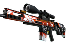 SCAR-20   Bloodsport (Немного поношенное)