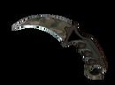 ★ StatTrak™ Керамбит | Пиксельный камуфляж «Лес» (Немного поношенное)